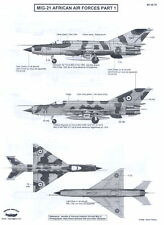 Berna Decals 1/48 MIKOYAN MiG-21 FISHBED Fighter African Air Forces Part 1