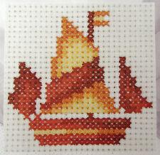 Sailing Boat - DMC Mini counted cross-stitch kit