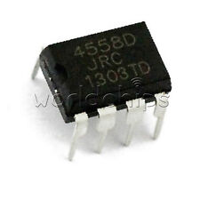 20pcs JRC4558D RC4558D 4558D OP AMP IC ICs DIP- 8 pin Low Power For TS9 TS808