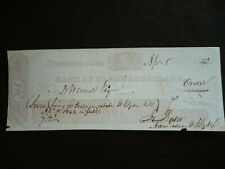 B. Tanner's Stereograph Cheque from Bank of Northumberland, Pennsylvania - 1842