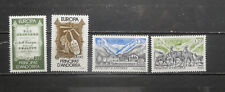 TIMBRES ANDORRE** : 2 séries EUROPA - 1985/1986 - Y/T 339/340 et 348/349 (A373)
