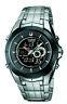Casio Edifice Men's Illuminator Silver-Tone Bracelet 40Mm Watch Efa119bk-1Av
