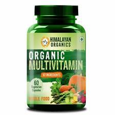 Himalaya Organisch Multivitamin Mit 60 + Zertifiziertes Bio Extrakte - 60