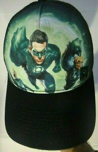 DC Comics Green Lantern New Era Mens Snapback Baseball Cap -new
