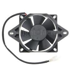 Electric Engine Cooling Fan Radiator Motorcycle ATV Go Kart Quad 150-250cc 12V