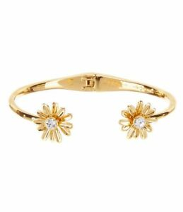Kate Spade Dazzling Daisies Cuff Bracelet NWT Beautiful Modern Simplicity &Grace