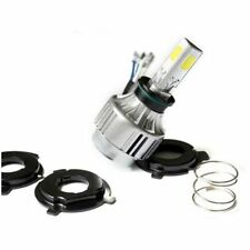4500LM 40W H4 COB Hi/Lo LED Motorcycle Moto Headlight White Bulb Kit 6000K 12V r