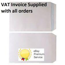 110x220mm A4 DL White Window Self Seal Envelopes x 5 500 1000 6000 NEXT DAY*