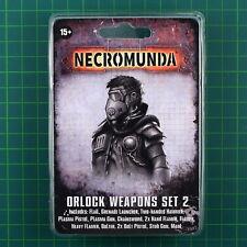 Orlock Gang Forge World Weapons Set 2 Necromunda 11457