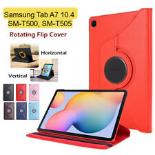 PU Leather 360° Smart Case Cover For Samsung Galaxy Tablet A7 10.4 SM-T500 T505