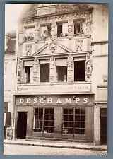 France, Dijon, Magasin Deschamps  Vintage albumen print. Tirage albuminé  10