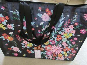 Vera Bradley Market Tote Reusable Bag Tangerine Twist Print New With Tag