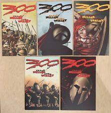 FRANK MILLER'S 300 Issues 1-5 (5 books) Dark Horse (1998) 1st Printing SET
