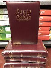 Biblia Reina-Valera 1960 con concordancia con cierre index letra grande manual