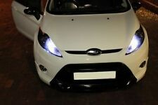 FORD FIESTA LED SIDELIGHT 501 CANBUS ERROR FREE XENON WHITE