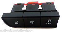 cambiar calefacción de asiento izquierda Original Audi A1 8x 8x0959673a switch