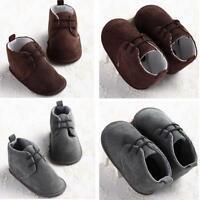 bébé fille garçons à lacet Chaussures crèche bébé nouveau-né pré-marche