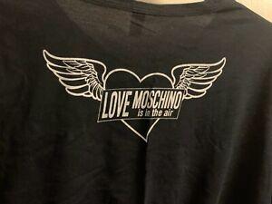 Moschino t shirt black large