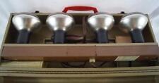 Vintage Logan Electric No. 300 Adjusto Lite Holder 4 Light Bar Mint w/ Case