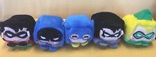 Kawaii Cubes DC Heroes Set 1 Robin,Batman,Batgirl,Nightwing,Green Arrow