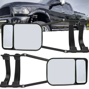 Pair Set For Chevrolet GMC C K 1500 2500 3500 Truck Towing Mirrors Ford F250 Ram
