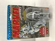 Siversurfer 1990 Marvel Superheroes action figure with action surfboard