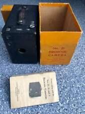 Vintage No. 2A Brownie Box Camera Original Box & Manual