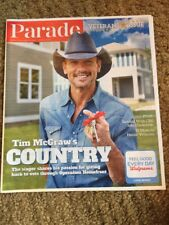 Parade Magazine November 8, 2015 Tim McGraw The Veteran's Issue Current