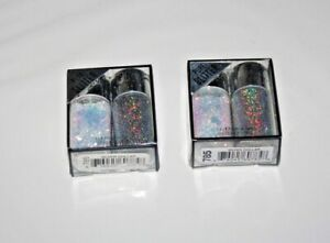 Hard Candy POPPIN PIGMENTS Pure Glitter #785 Silver Dollar Lot Of 2 in Box