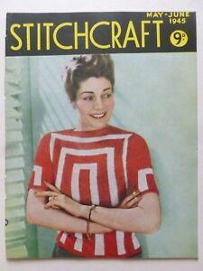 STITCHCRAFT May – June 1945 - Needlework Magazine