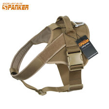 Pet Dog Harness Adjustable Large Small Service Dog Soft Vest Lead with Handle