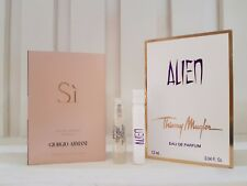 2xSample Giorgio Armani SI & Thierry Mugler Alien EDP Vial Sample