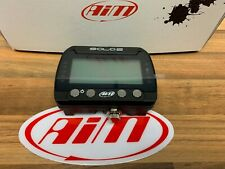 Aim Solo 2 Data Logger GPS + ECU Car Racing Track Day Lap Timer OBDII Connection