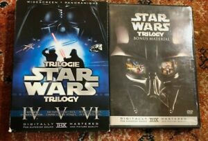 Star Wars Trilogy (DVD, 2008, 6-Disc Set) LIMITED Theatrical Versions  + Bonus