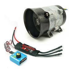 Car Electric Turbine Turbo Charger Boost Fan Brushless w/ 12V 50A ESC Controller