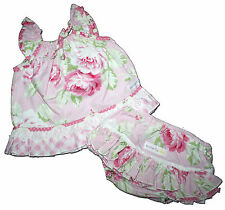 Stunning ButterflyBees Size 1 Custom Boutique SUNSHINE ROSE Ruffle Set