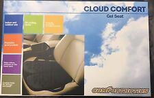 Comforthotics Portable Black MultiUse Comfort Gel Cushion Travel Car Office Seat