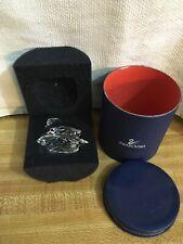 $85. NEW IN BOX SWAROVSKI Austria Swan Crystal Clear Signed Figurine A 7633
