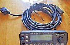Motorola MCS 2000 Model 2 VHF/UHF Control Head Faceplate w HKN61112B cable 17ft