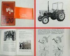 Fiat Trattori 420 420DT Traktor Bedienungsanleitung Betriebsanleitung 1978