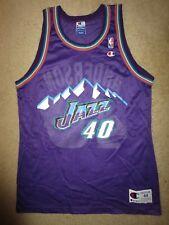 Shannon Anderson #40 Utah Jazz NBA Champion Jersey 44