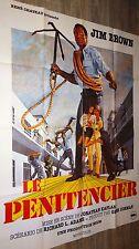 LE PENITENCIER ! jim brown affiche cinema blaxploitation 1973