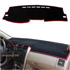 For Toyota Corolla 2007 - 2013 Dashboard Dash Mat DashMat Sun Cover Pad Red