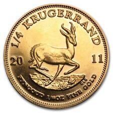 1/4 oz Gold Krügerrand - Südafrika Goldmünze Verschiedene Jahrgänge