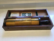 More details for vintage fuller w f stanley calculator spiral cylindrical slide rule in box