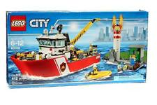 Lego CITY #60109 Fire Boat Building Toy Set