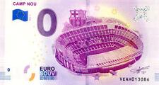 ESPAGNE Barcelone, Camp Nou, 2018, Billet 0 € Souvenir
