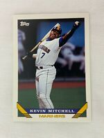 Kevin Mitchell Seattle Mariners 1993 Topps Baseball Card 217