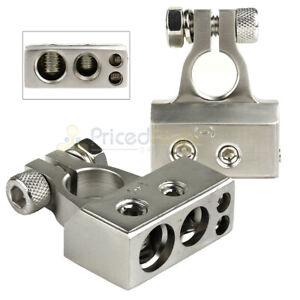Positive & Negative Battery Terminal 1/0GA 4GA & 8GA Outputs Stinger Select
