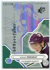 2003-04 SPx 183 Segei Fedorov PRO 122/250 Profiles